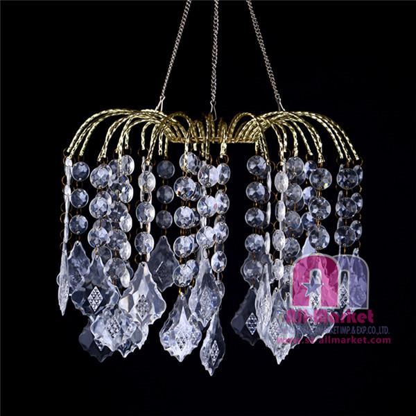 acrylic chandelier am235ld clear
