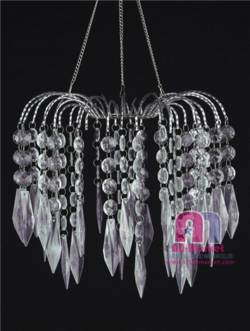 acrylic chandeliers am235lim string beaded
