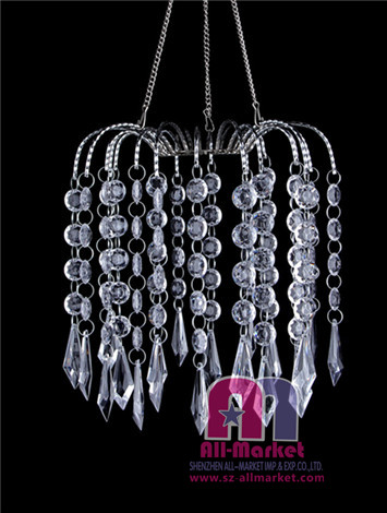Acrylic Beaded Chandeliers AM126L