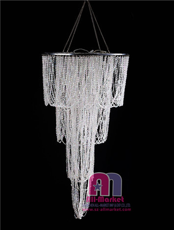Led chandelier lamp shades diy led chandelier outdoor for Diy led chandelier