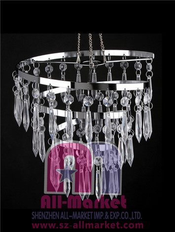 Acrylic Beaded Chandelier AM193LC