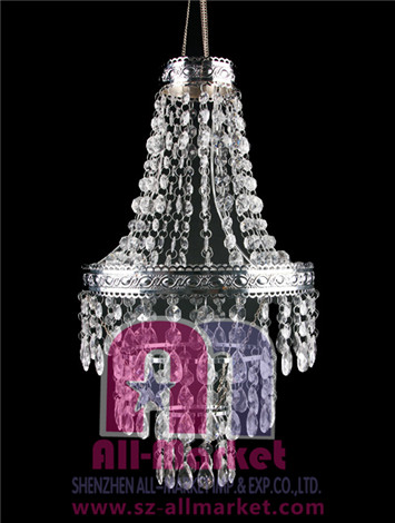 Acrylic Beaded Chandelier AMN1207