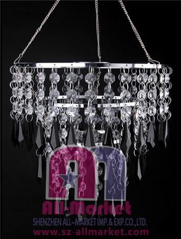 Acrylic Beaded Chandelier AMN1209