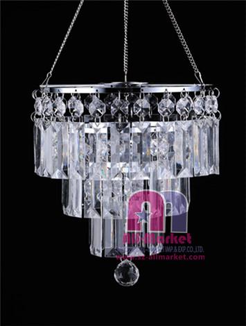 Acrylic Beaded Chandelier AMN928-1A