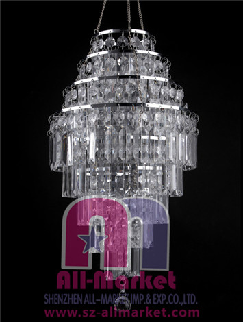 Acrylic Beaded Chandelier AMN928-4