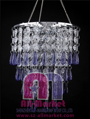 Acrylic Beaded Chandelier AMN935