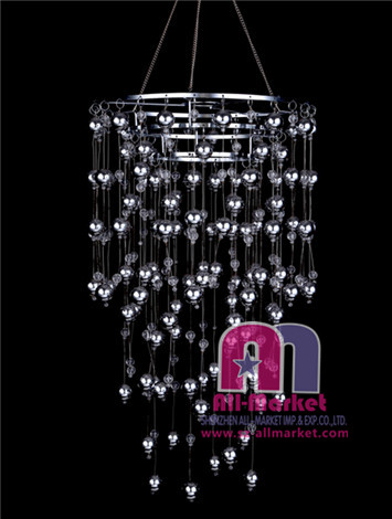 Acrylic Beaded Chandelier AMN834
