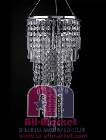 Acrylic Beaded Chandelier AMN937