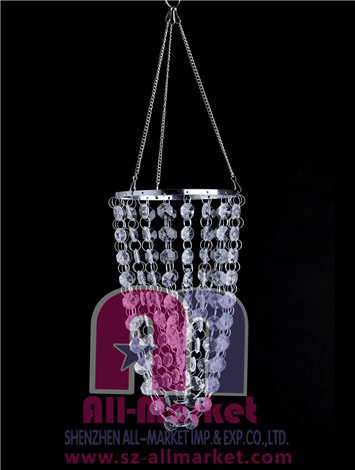 Acrylic Beaded Chandelier AM136L