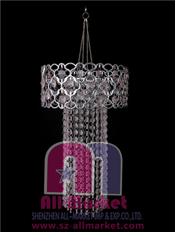 Acrylic Beaded Chandelier AMN1063