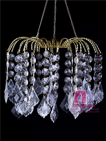 Acrylic Beaded Chandelier AM235LD