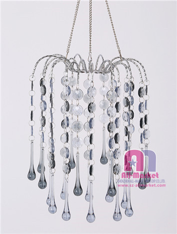 Acrylic Beaded Chandelier AM235LF-2