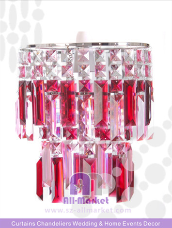 Pink Crystal Chandelier Wholesale