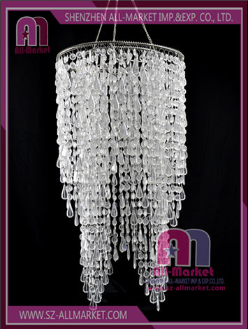 Wedding Beaded Chandelier