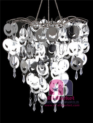 Spangles Crystals PVC Chandelier AM205LG