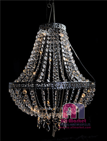 Wedding Crystal Chandelier AMN1470-5-LED