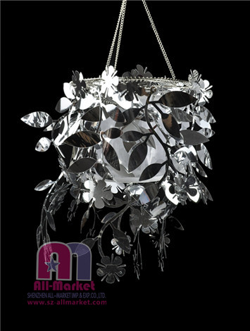 PVC Bending Flower Pendant Lamp AM72LL-2