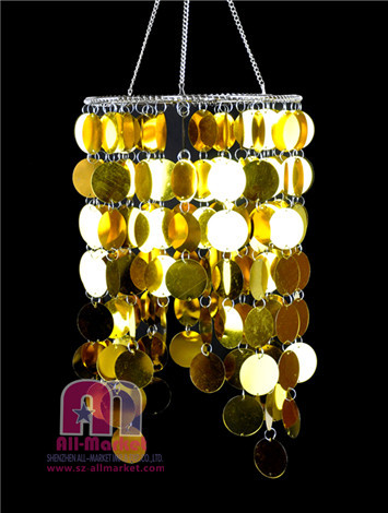 Gold PVC Chandeliers AM165LJ-4