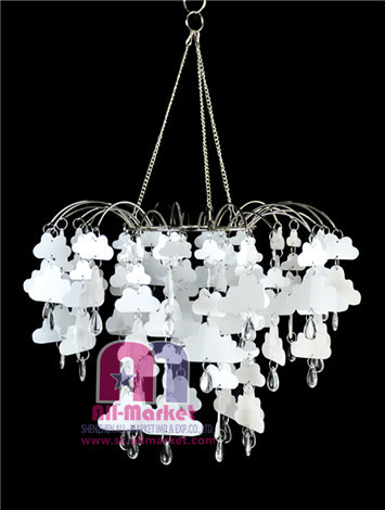 White Clouds PVC Chandeliers AM120L