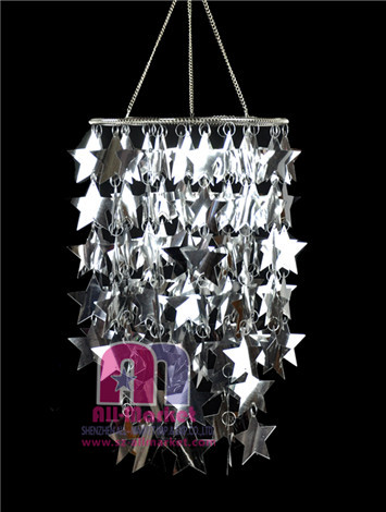 Silver Star PVC Chandeliers AM118PLF