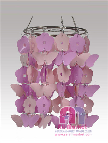 Butterfly and Flower PVC Chandeliers AM192L