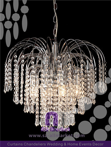 Decorative Crystal Chandelier AMC1619CH