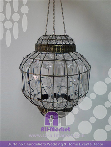 Oval Chandelier Crystal AMC141L