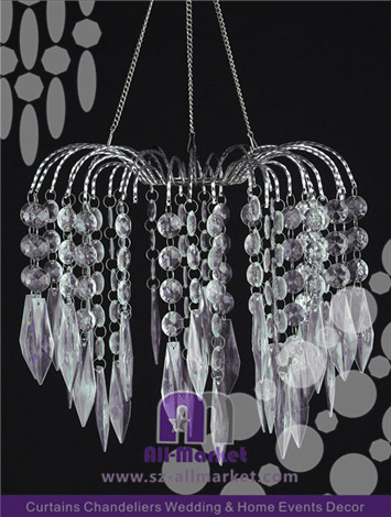 Crystal Waterfall Chandelier AMC235LIM