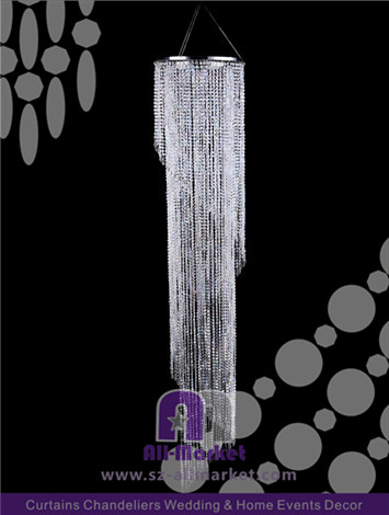 Crystal Waterfall Chandelier AMC193L-1A