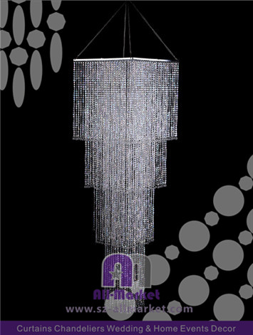 Cascading Crystal Chandelier AMC138LP