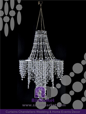 Wedding Plastic Chandelier AMC2283DLD