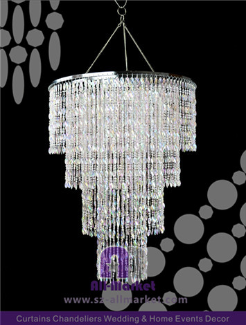 Plastic Chandelier Pedants AMC2244L
