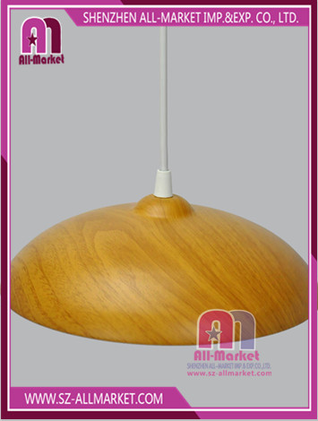 Wood Color Metal Chandelier LT1630