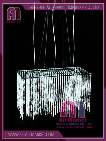 Wedding Plastic Chandelier AMC138ALG