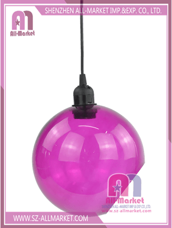 Glass Lamp Shade Pink