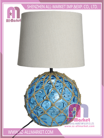 Hemp Rope Glass Table Lamps TG1623A-BL