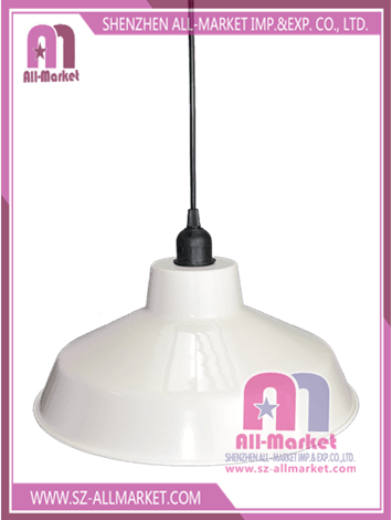 White Metal Lamp Shade AMC1303W