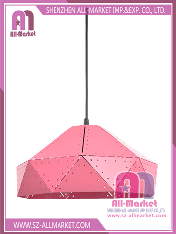 Pink Metal Lamp Shade LT17537A