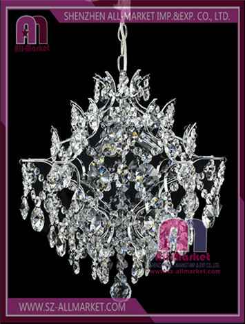 Crystal Candle Chandelier AMN1248-3