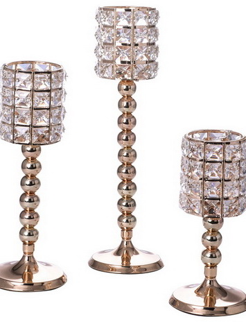 Crystal Beads Candlestick Set ZSG17727
